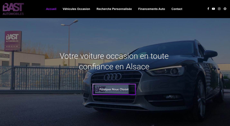 Homepage Bast Auto