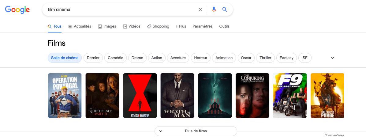 Position zéro films
